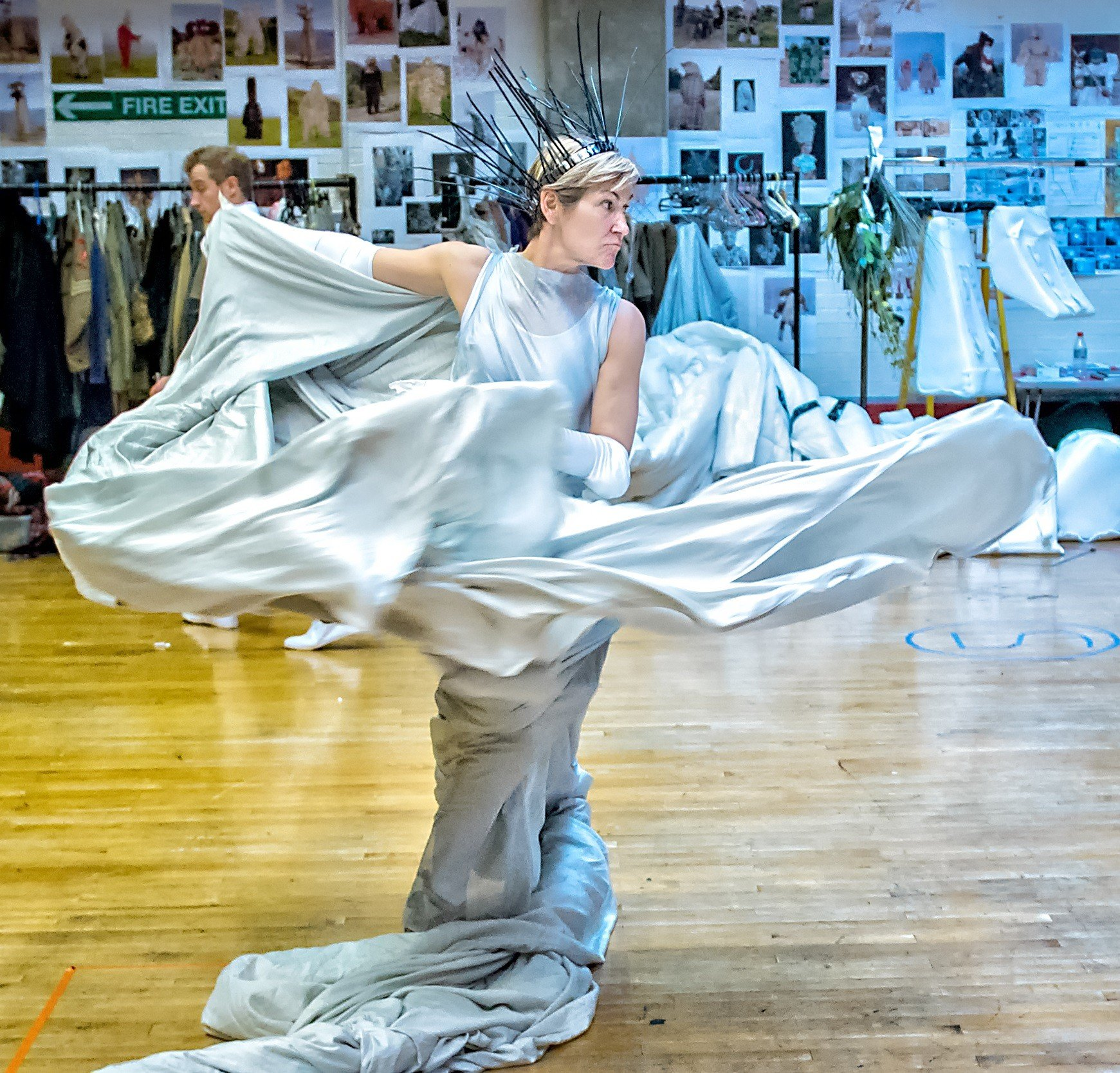 Creating the magical world of Narnia: bicycles, puppets, and 24 metres of white faux fur