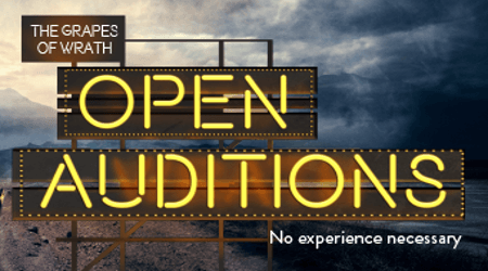 Open auditions for Community Chorus in The Grapes of Wrath | Leeds