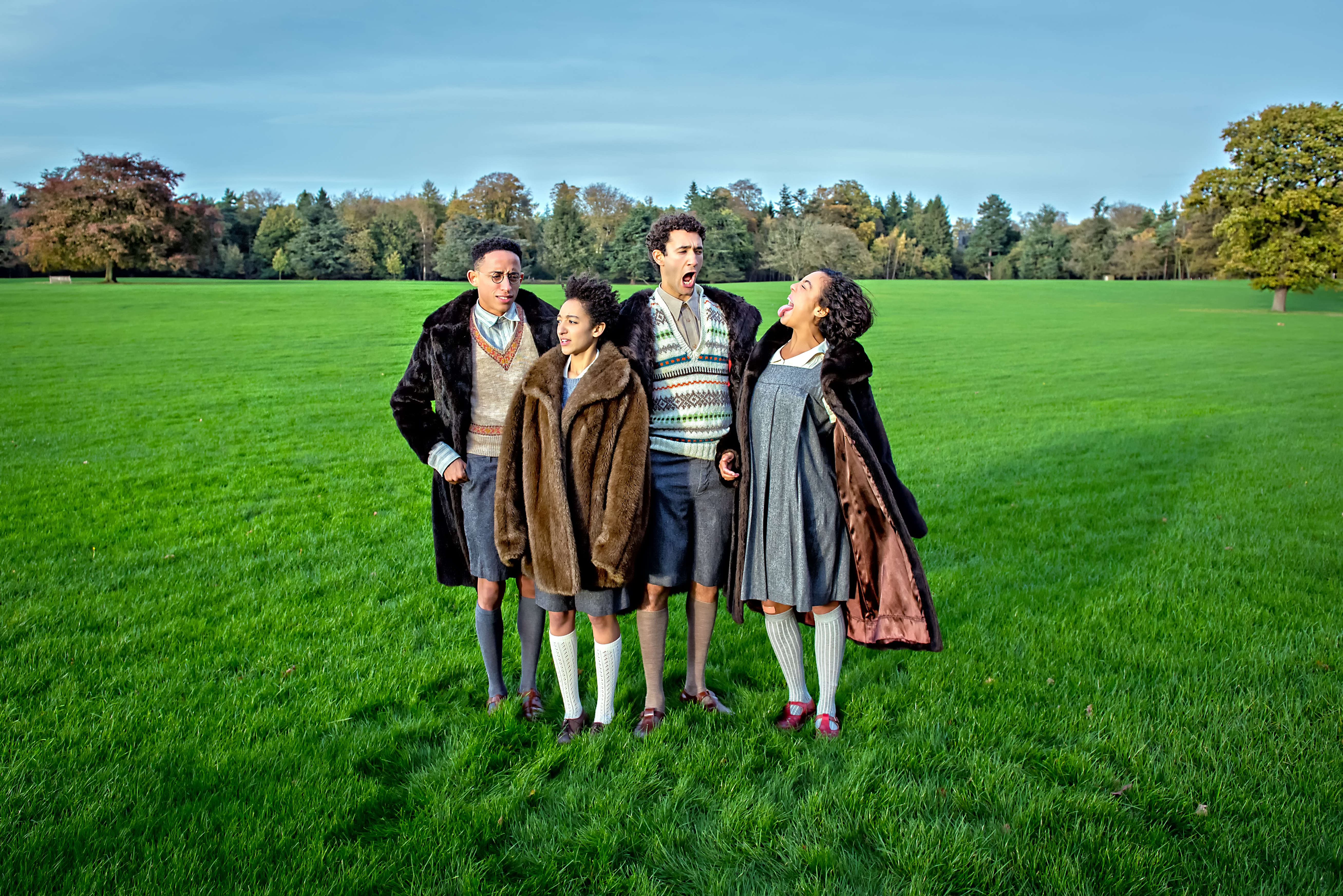 A Pevensie Family Day Out: The cast of The Lion, The Witch & The Wardrobe explore Harewood House