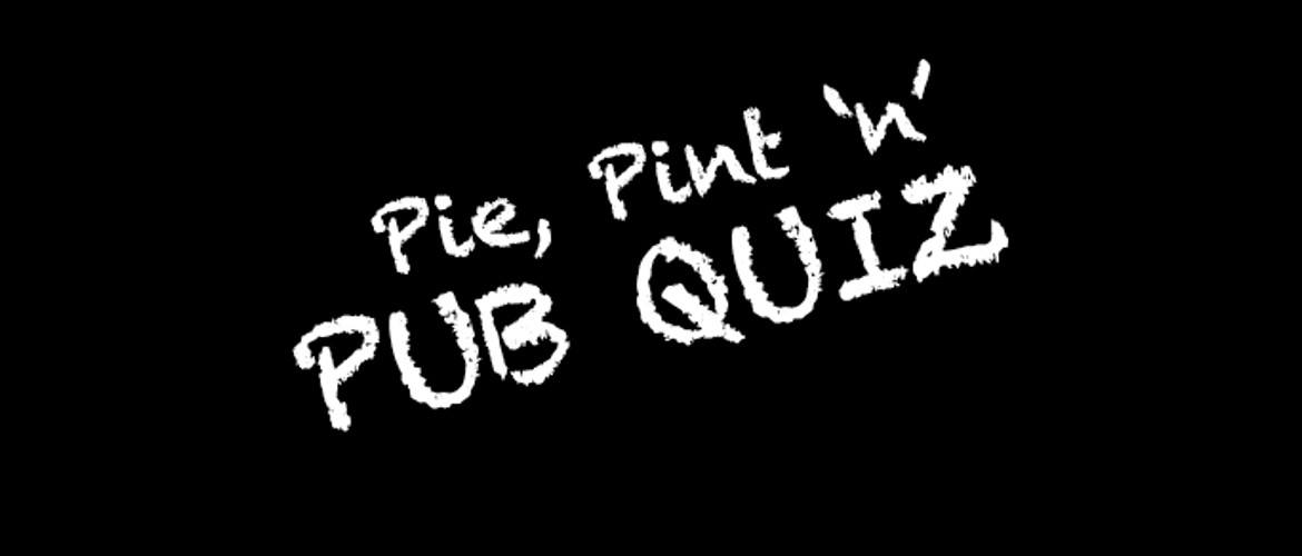Pie, Pint and a Pub Quiz (2015)