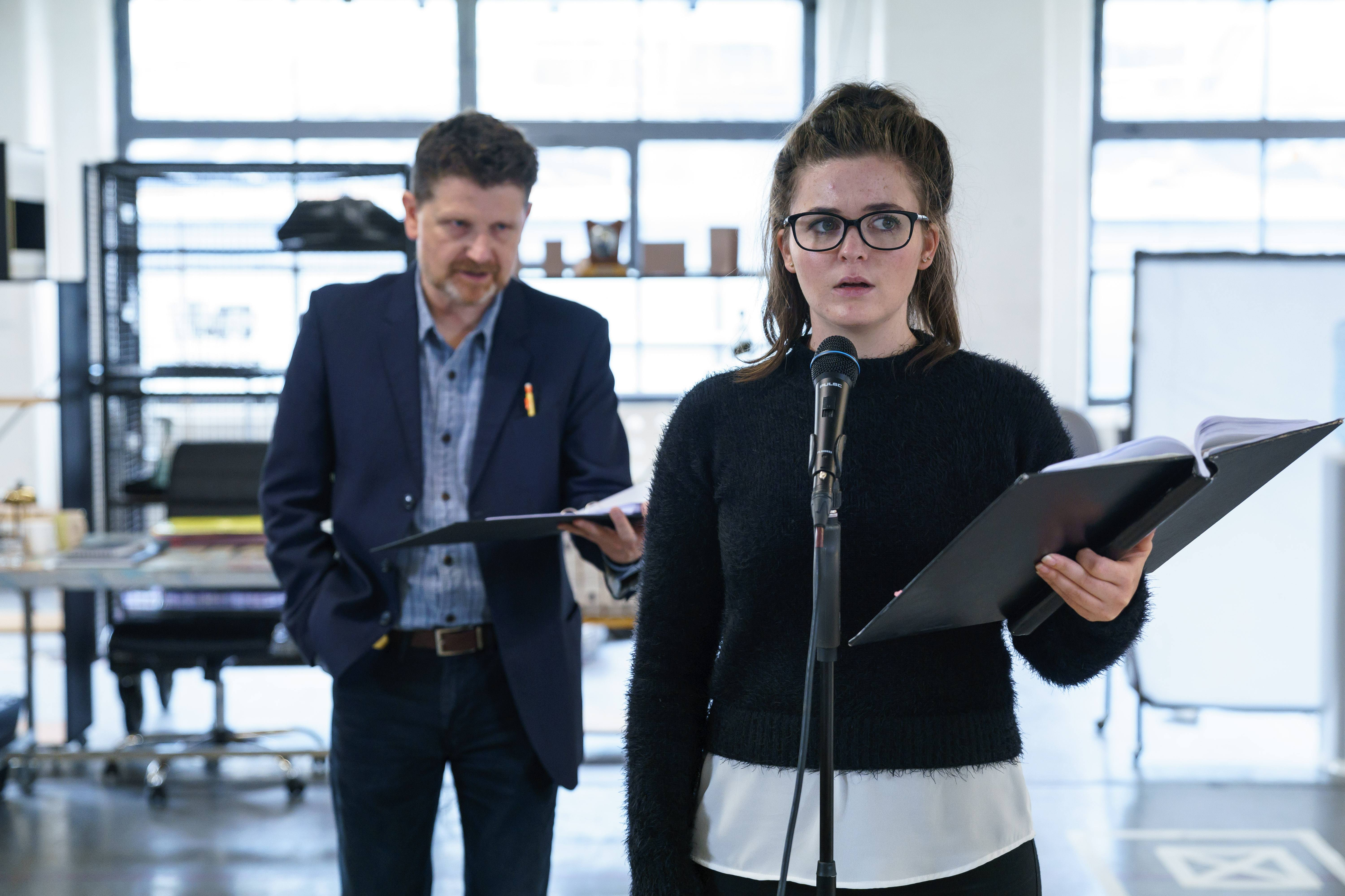 (the fall of) The Master Builder in rehearsals: a gripping reimagining