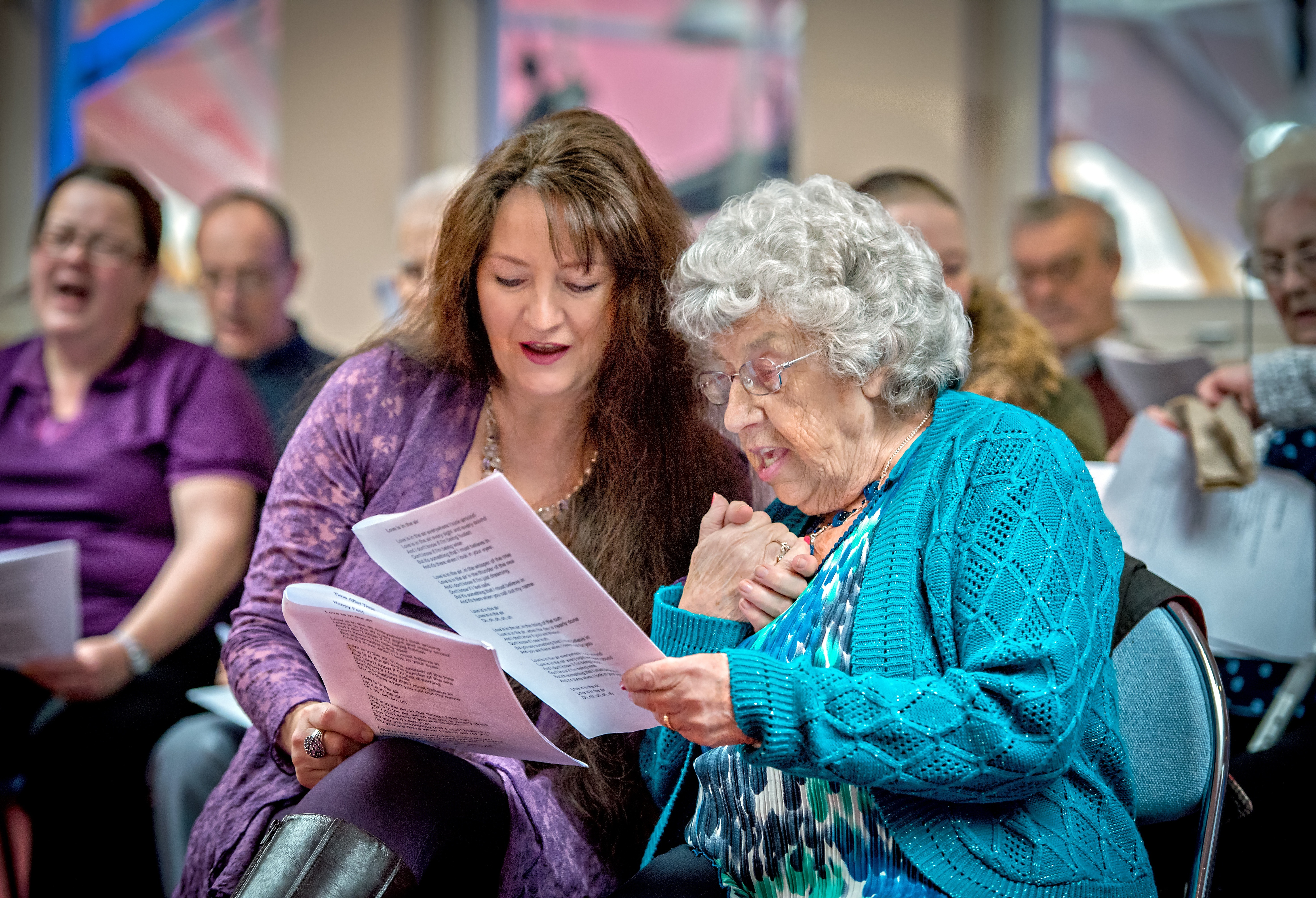 The Playhouse's pioneering Dementia Friendly performances on BBC news