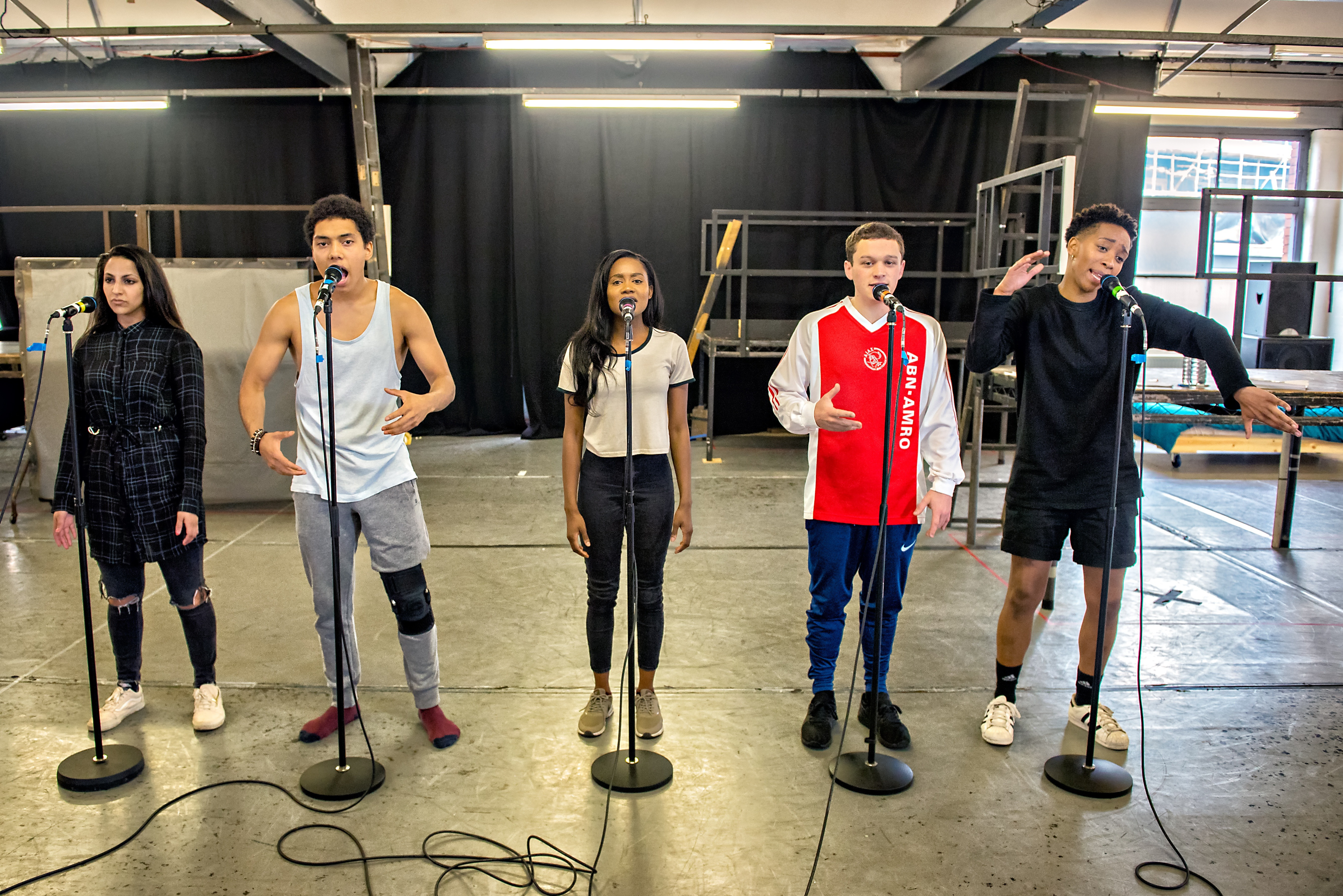 Passion, protest and slam poetry: Ode to Leeds in rehearsal