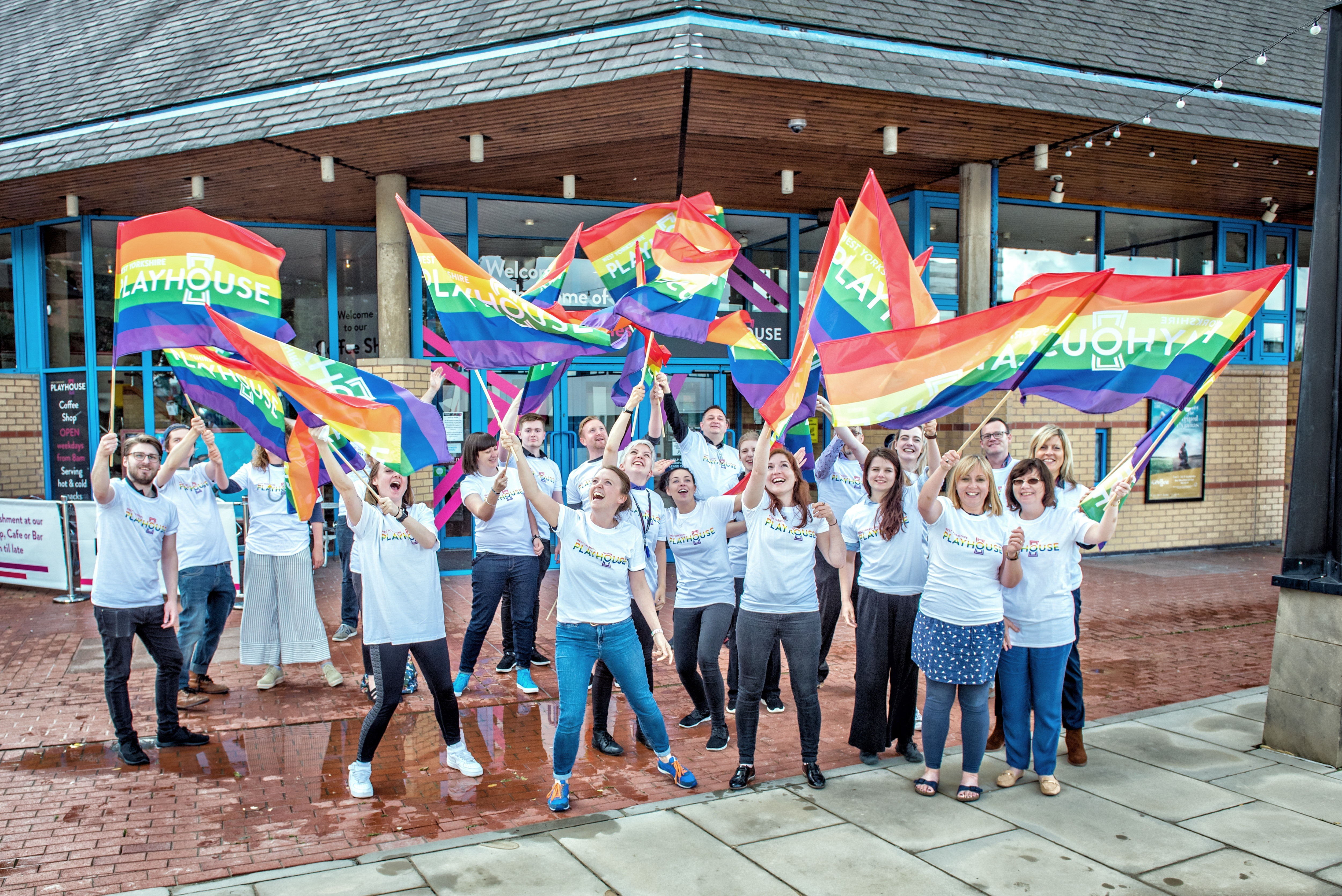 West Yorkshire Playhouse to march hand in hand with Leeds Pride