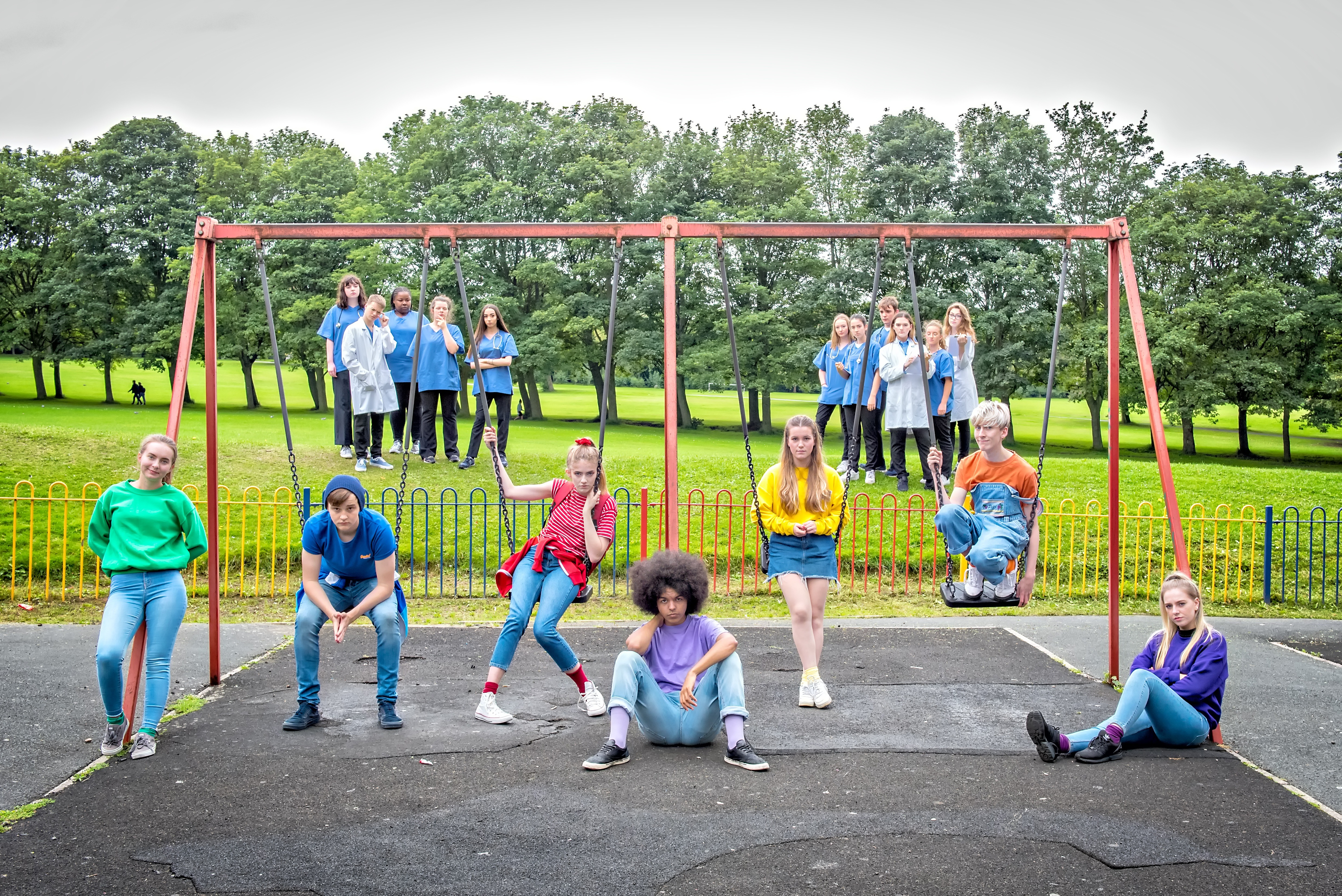 West Yorkshire Playhouse Youth Theatre and Leeds CAMHS join forces to tackle the stigma around mental health