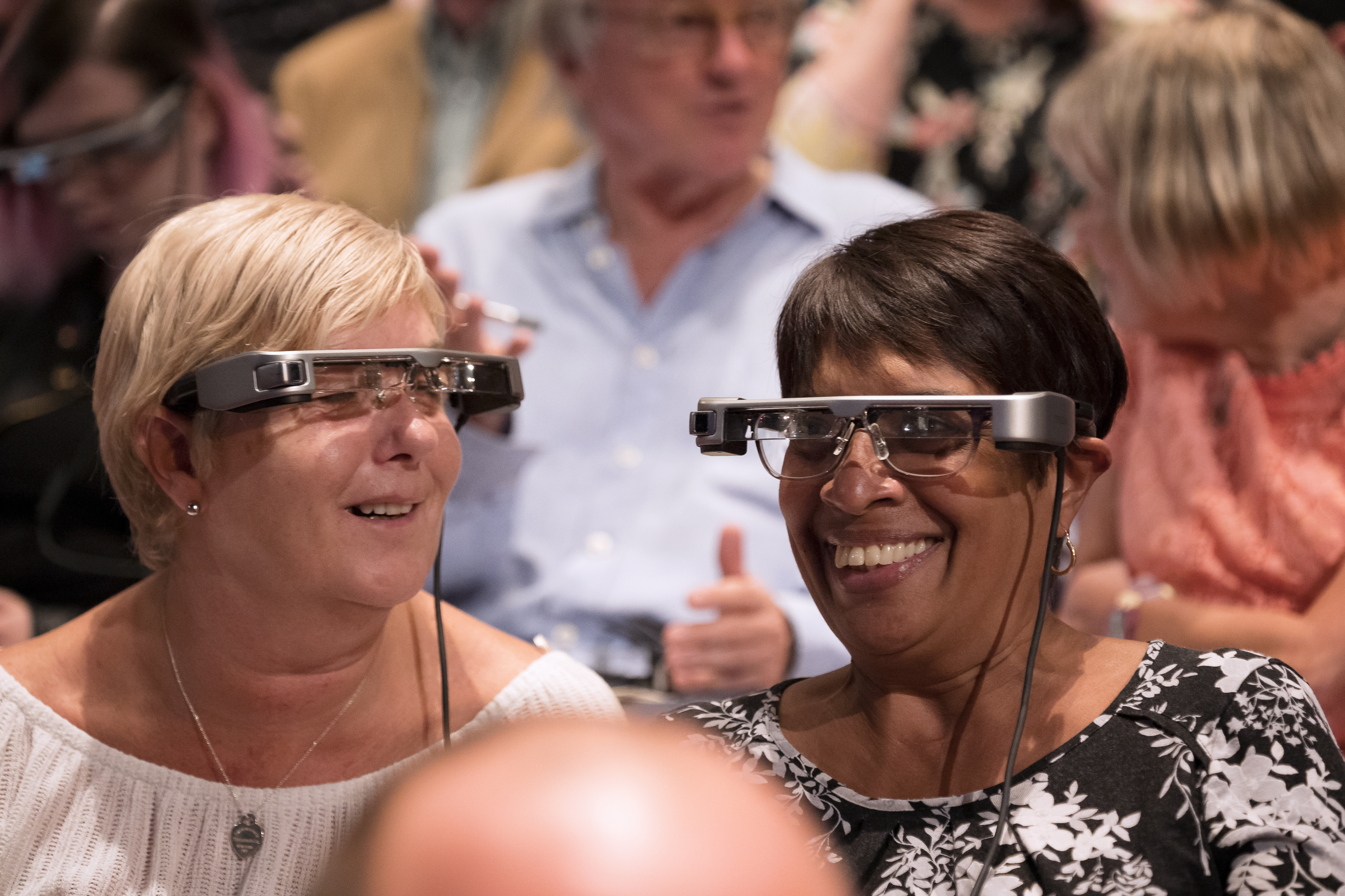 Ground-breaking smart caption glasses developed by the National Theatre and Leeds Beckett University Professor to be trialled at Leeds Playhouse