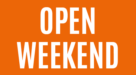 open weekend