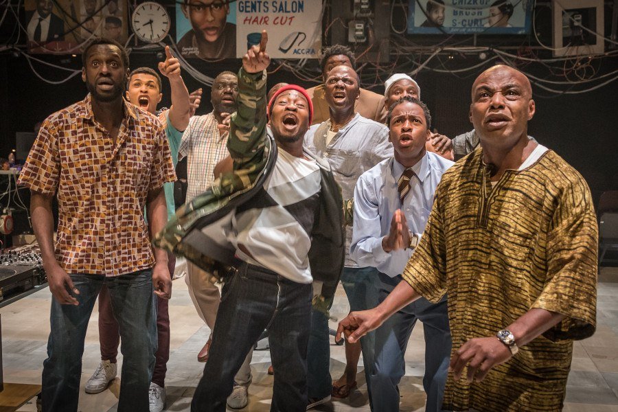 Leeds Playhouse Announces the co-production of Barber Shop Chronicles with National Theatre and Fuel for National Theatre at Home
