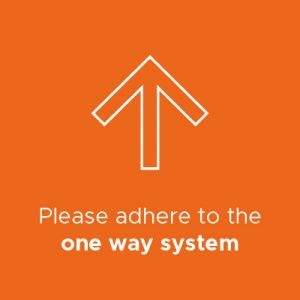 One way system infographic