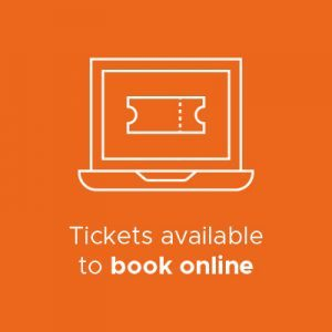 Book online, in advance infographic
